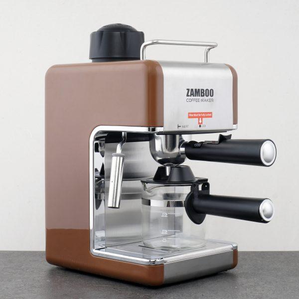 Máy pha cà phê Espresso ZamBoo ZB-68CF - Nâu